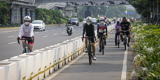 Basri Baco Minta Pembongkaran Jalur Sepeda di Sudirman-Thamrin Tunggu Kajian Polri