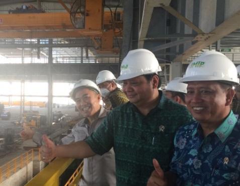 Wow! Airlangga Klaim Morowali Industrial Park Bakal Serap 80 Ribu Tenaga Kerja