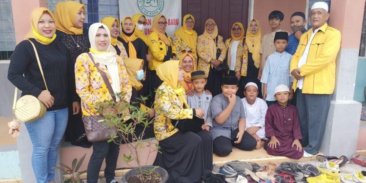 KPPG Kota Medan Sumbangkan 42 Al Quran dan Sembako Untuk 2 Rumah Tahfidz