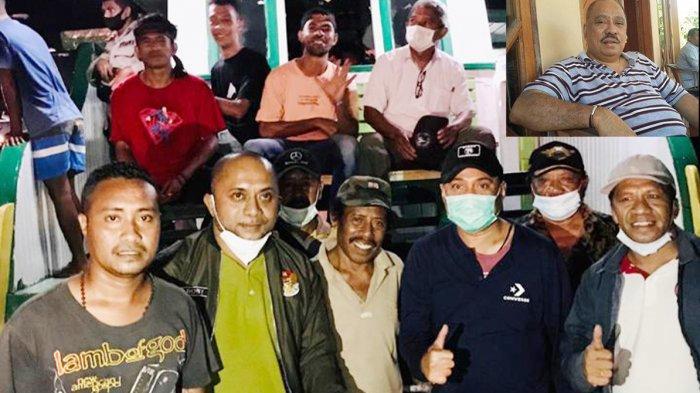 Melchias Mekeng Serahkan 500 Lembar Selimut Untuk Korban Banjir Bandang Adonara NTT