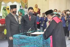 Gantikan Hj Ananda, Matnor Ali Dilantik Jadi Wakil Ketua DPRD Banjarmasin