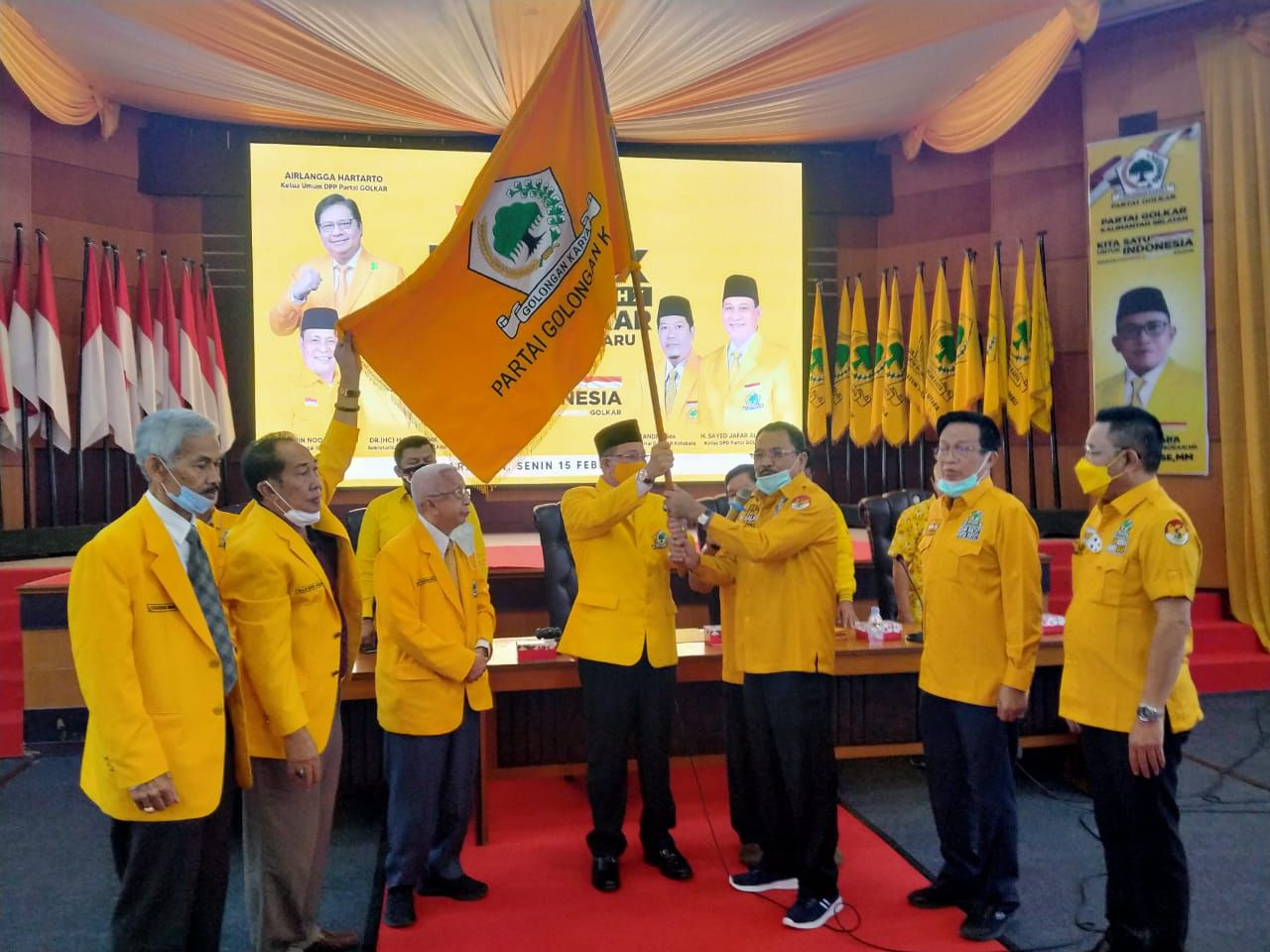 DPP Restui Sayed Jafar al-Idrus Kembali Pimpin Golkar Kotabaru Ketiga Kalinya