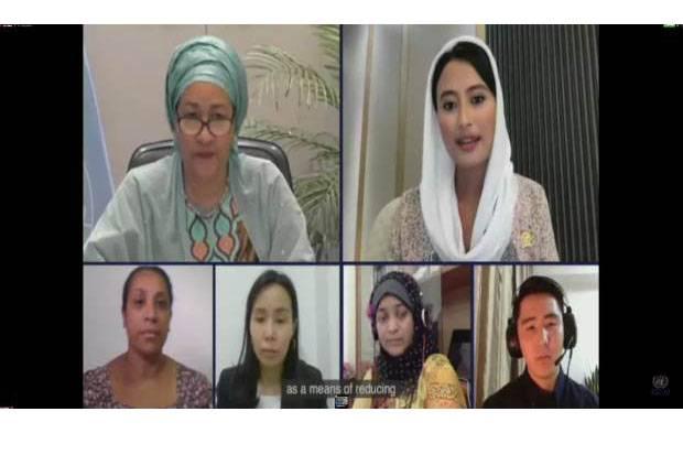 Wakili Pemuda ASEAN di Forum PBB, Dyah Roro Esti Tegaskan Komitmen Pembangunan Berkelanjutan Indonesia