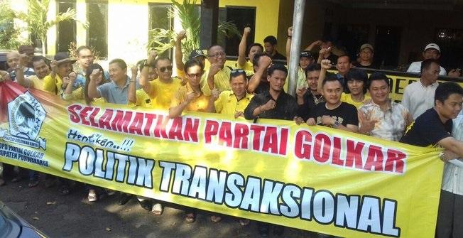 Rekomendasi Bodong, Golkar Purwakarta Tuding DPP Lakukan Politik Transaksional