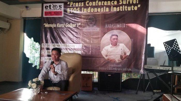 Survei ETOS, 63 Persen Kader Golkar Ingin Pergantian Pimpinan Pusat Golkar