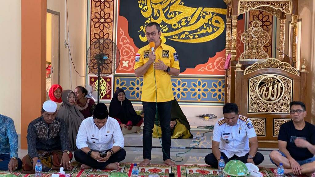 Cerita Andi Rio Idris Padjalangi Resmikan Masjid Rp.1 Miliar di Bone