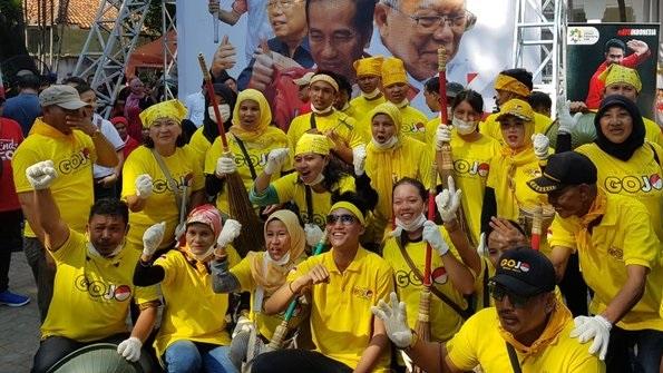 Relawan Gojo Siap Kerjasama Dengan TKN Jokowi-Ma'ruf Amin Di Bawah Erick Thohir