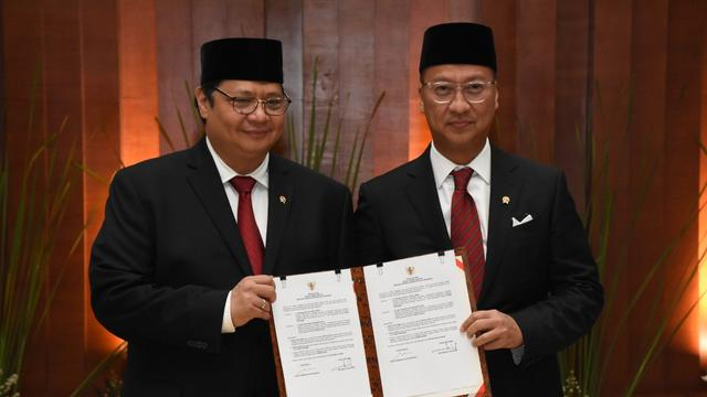 Sektor Ekonomi Kabinet Indonesia Maju Dikuasai Kader Golkar