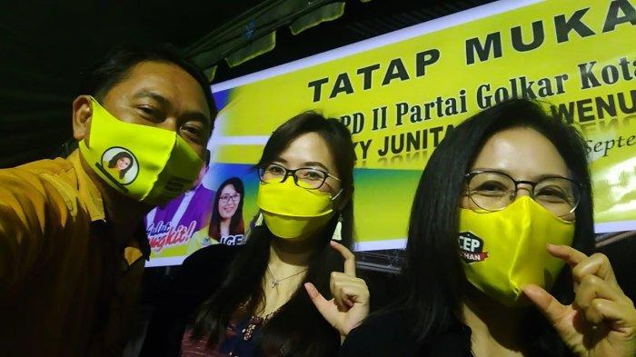 Lucky Mangkey Pimpin Ormas MKGR Sulut Menangkan Tetty Paruntu dan Jilly Gabriela Eman
