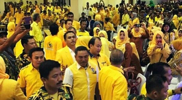 Wah! Dituding Provokator, Idris Laena Diusir Dari Rakerda Golkar Rohul