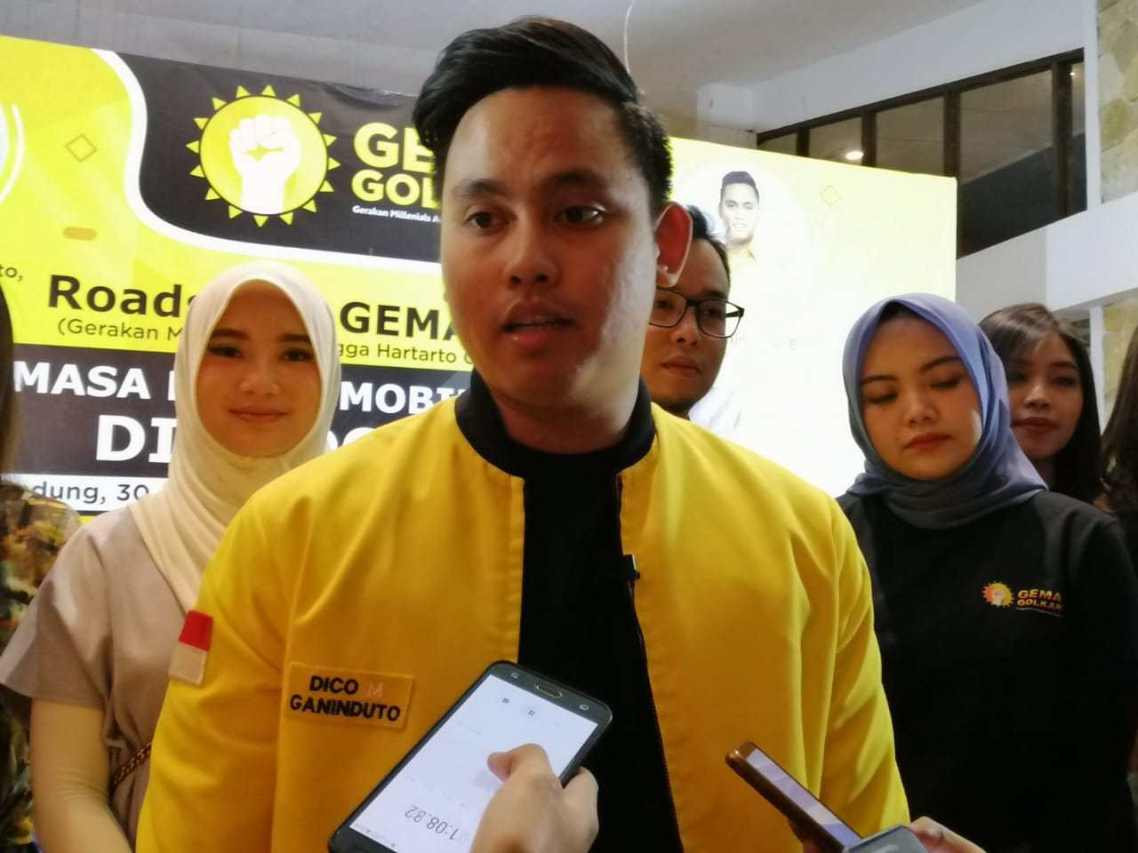 Tinggalkan Petahana Mirna Annisa, Dico Ganinduto Diusung Golkar-Demokrat Jadi Cabup Kendal 2020