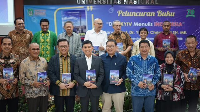 Buah Pemikiran Selama Jadi Dubes, Yuddy Chrisnandi Luncurkan Buku Dari Kyiv Menulis Indonesia