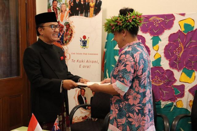 Dubes Tantowi Yahya Jadi Perwakilan Pertama RI Untuk Kepulauan Cook