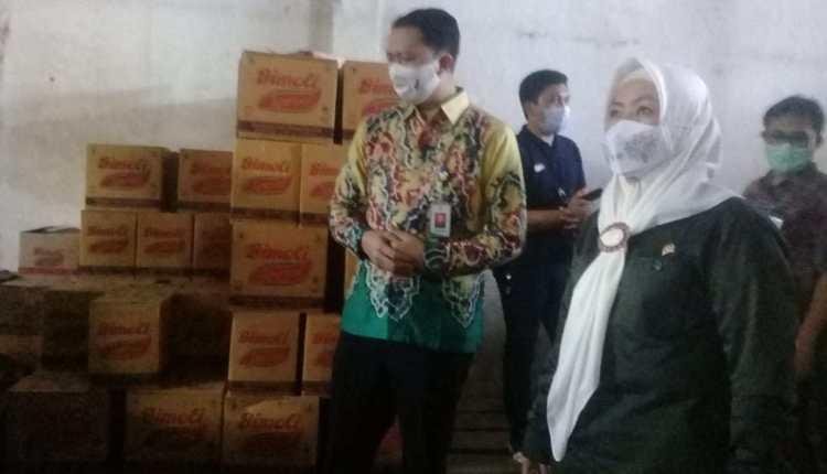 Idah Syahidah Imbau Pemilik Gudang Pangan Perhatikan Aspek Higienitas