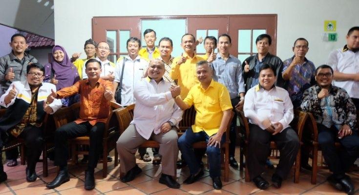 Silaturahim Jajaki Koalisi, Pengurus PKS Sambangi Golkar Kota Bogor