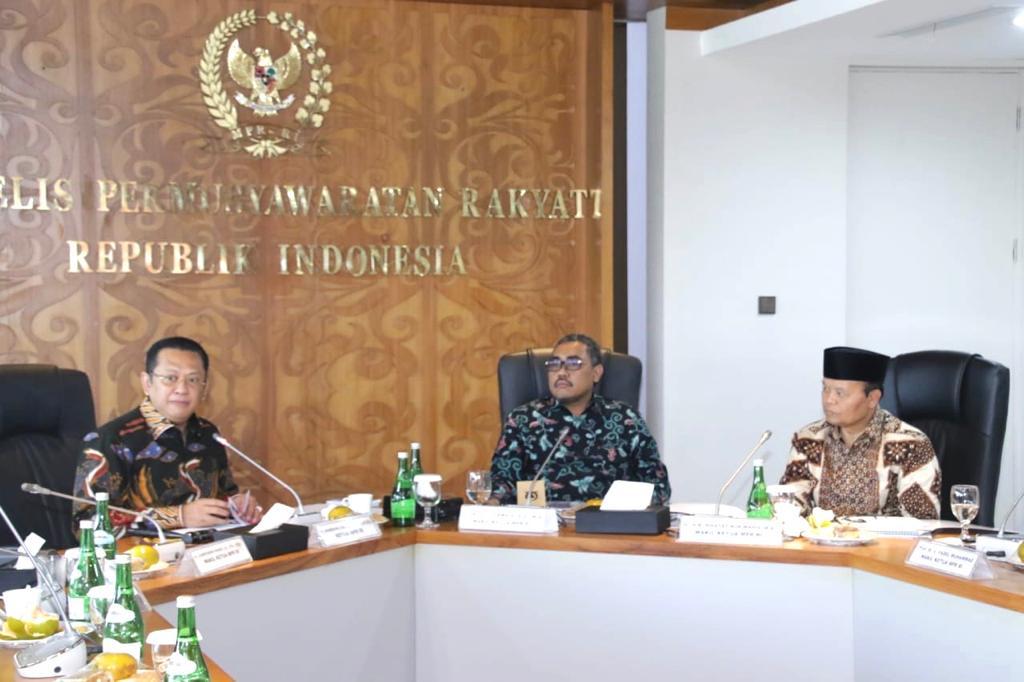 Bamsoet Ungkap Jokowi Dukung Gagasan MPR RI Bentuk Majelis Syuro Dunia