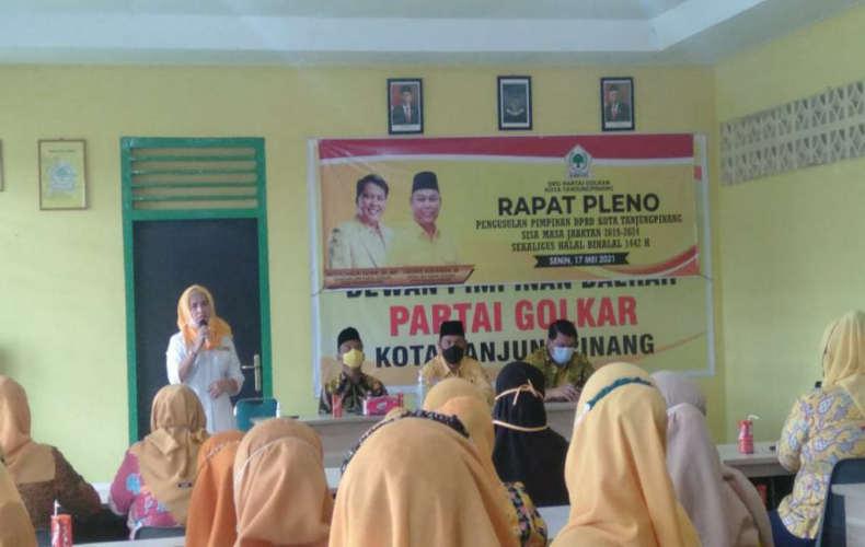 Gantikan Ade Angga, Golkar Usulkan 4 Nama Kader Isi Jabatan Wakil Ketua DPRD Tanjungpinang