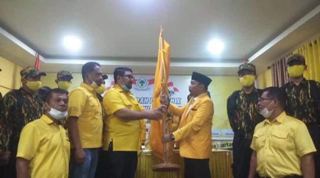 Gantikan Syahrul Lung, Asmadi Terpilih Aklamasi Pimpin Golkar Padang Pariaman