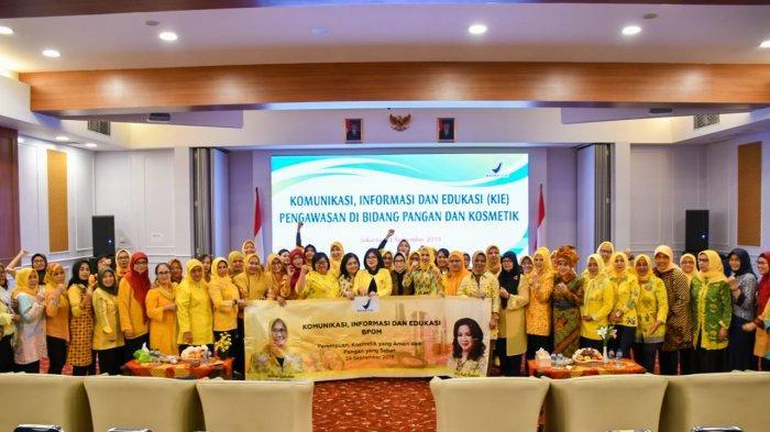 KPPG dan BPOM Gelar Edukasi Kosmetik Aman dan Pangan Sehat Bagi Perempuan