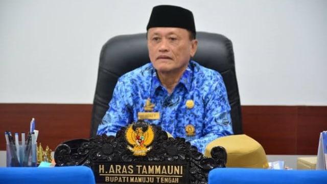 Bupati Mamuju Tengah dan Ketua Golkar Sulbar Aras Tammauni Positif Terpapar COVID-19