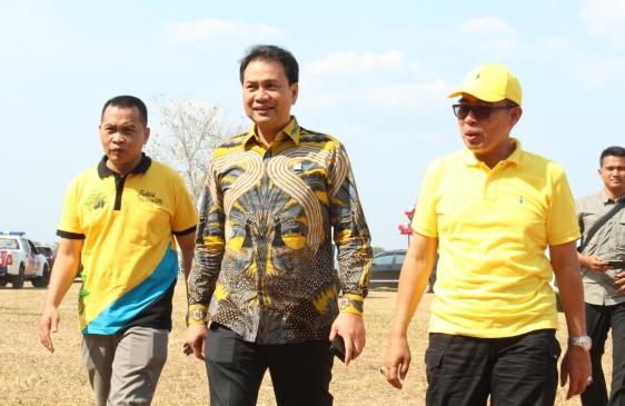 Janji Azis Syamsuddin Beri Dukungan Golkar Untuk Zaiful Bokhari Di Pilkada Lamtim 2020