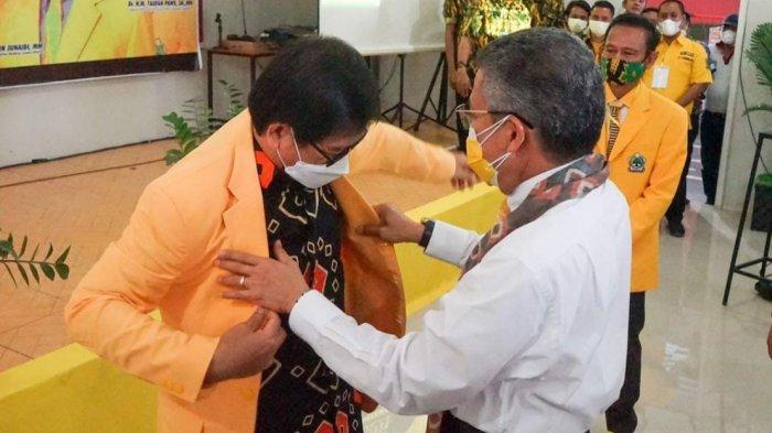 Golkarkan Wabup Lutra Suaib Mansur, Taufan Pawe Relakan Jas Kuning Kesayangannya