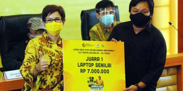 Lomba Puisi HUT Ke-56 Golkar, 36 Jurnalis se-Indonesia Berpartisipasi