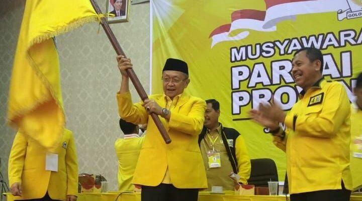 Terpilih Aklamasi Pimpin Golkar Jambi, Cek Endra Masih Memilih Calon Sekretaris Pendampingnya