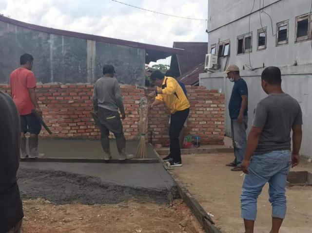 Parisman Ihwan Pulang Kampung Ke Tanah Datar, Bangun Masjid Tempatnya Belajar Mengaji
