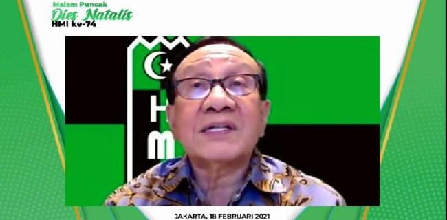 Akbar Tandjung Minta Kader HMI Persiapkan Diri Hadapi 100 Tahun Indonesia di 2045