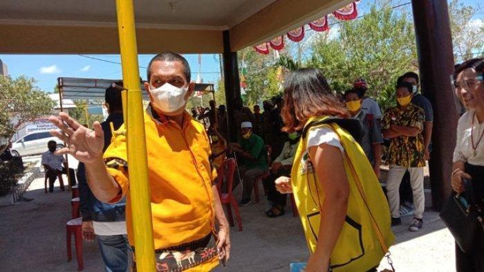 Melki Laka Lena Minta Paslon di Sembilan Pilkada 2020 se-NTT Pakai Masker dan Selalu Jaga Jarak