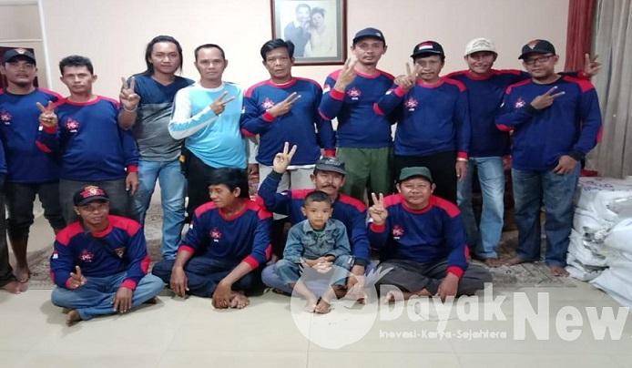 Balakar 545 Kuala Kapuas Ikrar Sukarela Siap Menangkan Agati Sulie di Kalteng