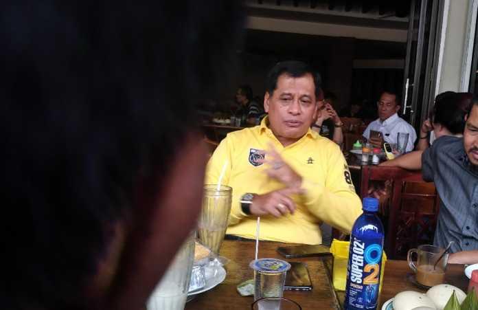 Golkar All Out, Nurdin Halid Kaget Jokowi Tetap Kalah di Sulsel