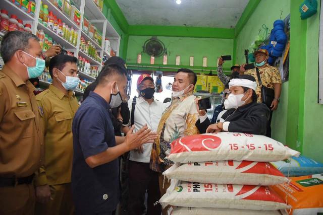 Salim Fakhry Minta Distribusi Pupuk Bersubsidi di Aceh Diatur Baik Agar Tepat Sasaran