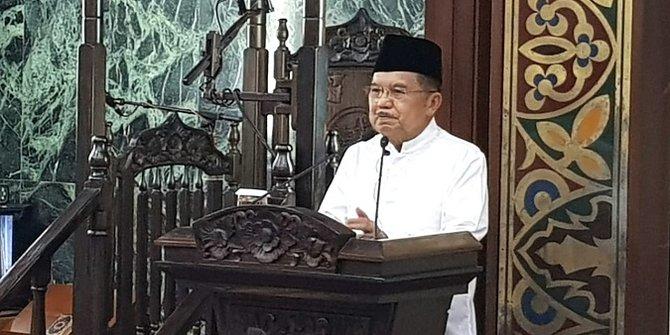 Jusuf Kalla Minta BKPRMI Jangan Berpolitik Tapi Makmurkan Masjid