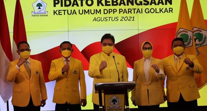 Airlangga Hartarto Ungkap 6 Tantangan Megatrend Indonesia Songsong Tahun 2045
