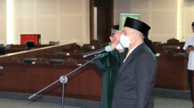 Gantikan Yasir Ridho Lubis, Irham Buana Nasution Dilantik Jadi Wakil Ketua DPRD Sumut