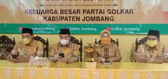 Yahya Zaini Ajak Kader Golkar Jombang Lebih Aktif Bermedia Sosial Sebarkan Kegiatan Partai