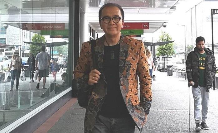 Perkenalkan Batik Indonesia, Tantowi Yahya Fashion Show di Jalanan Selandia Baru
