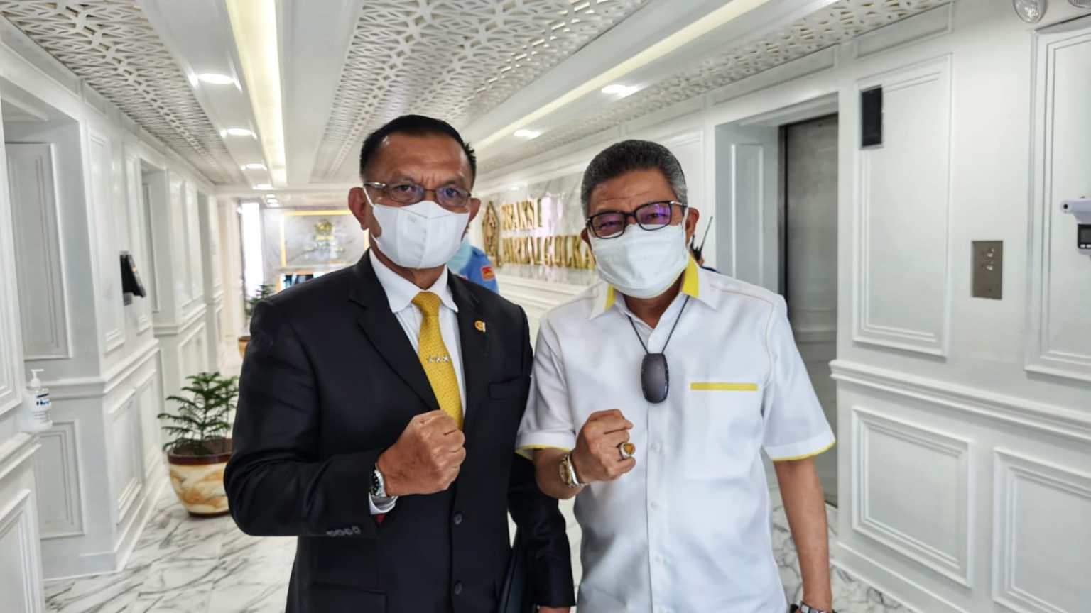 Sekjen DPP Golkar Lodewijk Paulus Apresiasi Kinerja Taufan Pawe Besarkan Golkar Sulsel