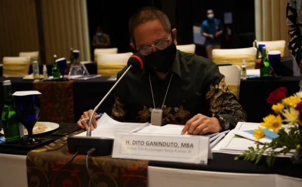 Dito Ganinduto Harap KUR Rp.16.505 Triliun di Jateng Bisa Bangkitkan Geliat Ekonomi UMKM