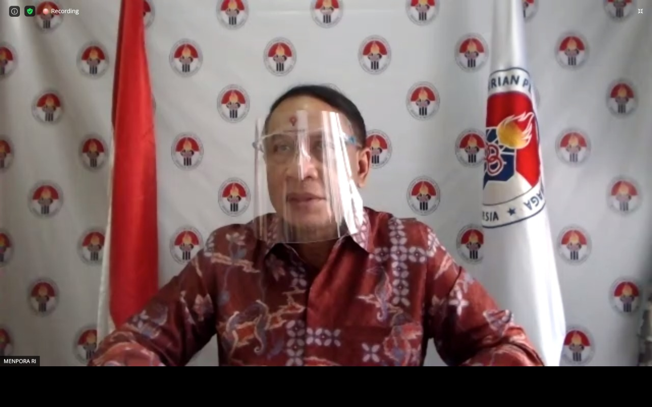 Menpora Zainudin Amali Apresiasi Keputusan PSSI Tunda Liga 1 dan Liga 2