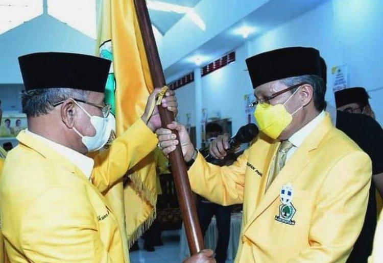 Bupati Iksan Iskandar Terpilih Lagi Pimpin Golkar Jeneponto, Taufan Pawe Minta Target 10 Kursi DPRD