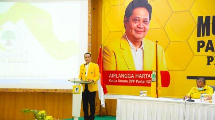 Miliki Sejumlah Ide Brilian, Musa Rajekshah Pastikan Golkar Sumut Dukung Airlangga di Pilpres 2024