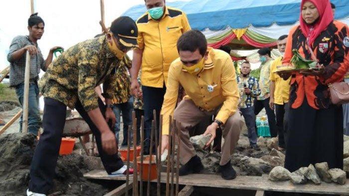 TM Nurlif Minta Dulmusrid Jadikan Kantor Golkar Wadah Diskusi dan Aspirasi Rakyat Aceh Singkil