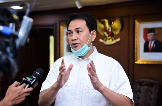 Azis Syamsuddin Minta Pemprov Sumut Proaktif Bantu Warga Terdampak Erupsi Sinabung