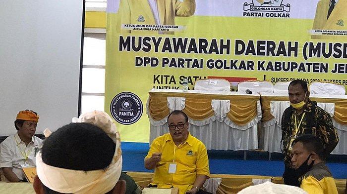 Dihadiri Sugawa Korry, Musda Golkar Jembrana Malah Ricuh Dan Akhirnya Dihentikan
