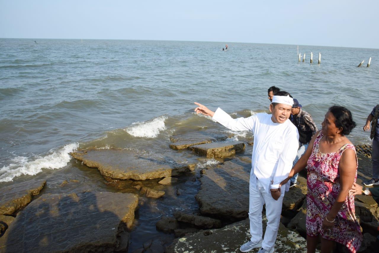 Dedi Mulyadi Desak Ahok Tuntaskan Masalah Limbah Minyak di Pantai Karawang
