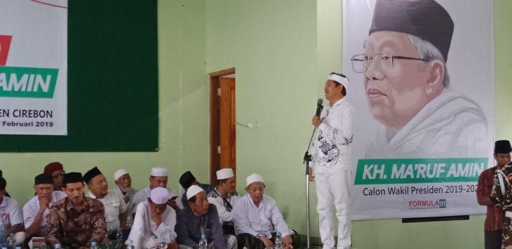 Dedi Mulyadi Yakin Jokowi Menang 60 Persen di Cirebon, Ini Alasannya