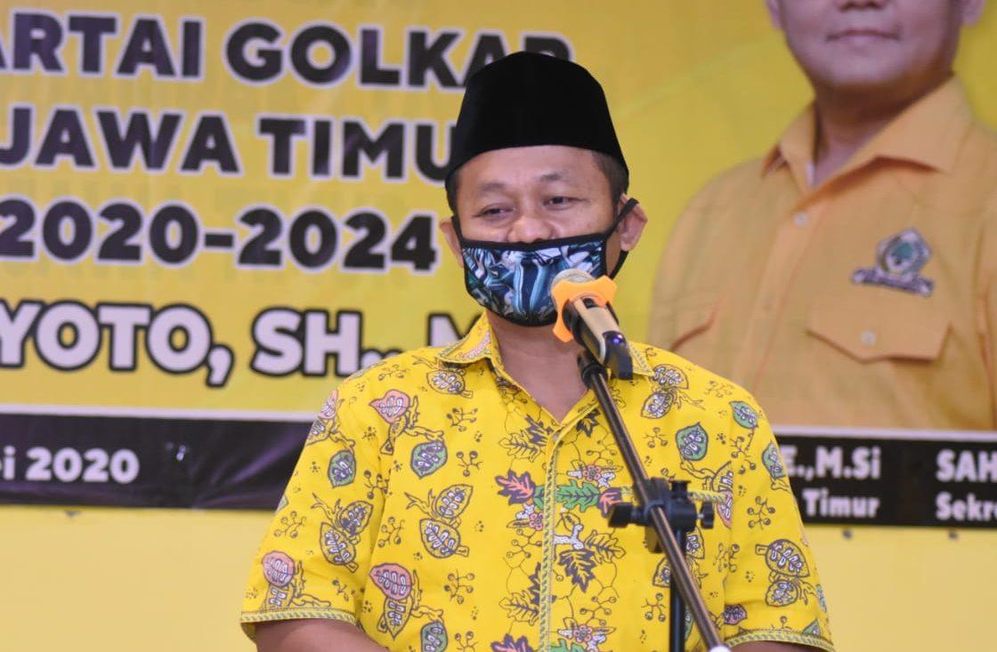 Rakorda BSN Se-Jatim, Sarmuji Paparkan 3 Upaya Golkar Menang Pemilu 2024